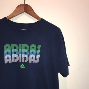 Adidas On The Go Spell Out/Graphic T-Shirt